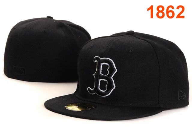 Boston Red Sox MLB Fitted Hat PT01