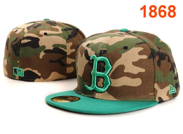 Boston Red Sox MLB Fitted Hat PT05