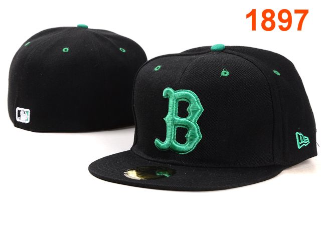 Boston Red Sox MLB Fitted Hat PT06
