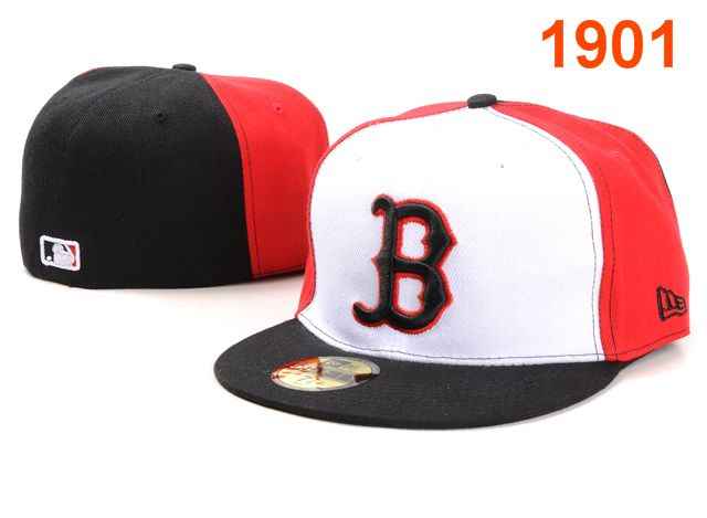 Boston Red Sox MLB Fitted Hat PT07