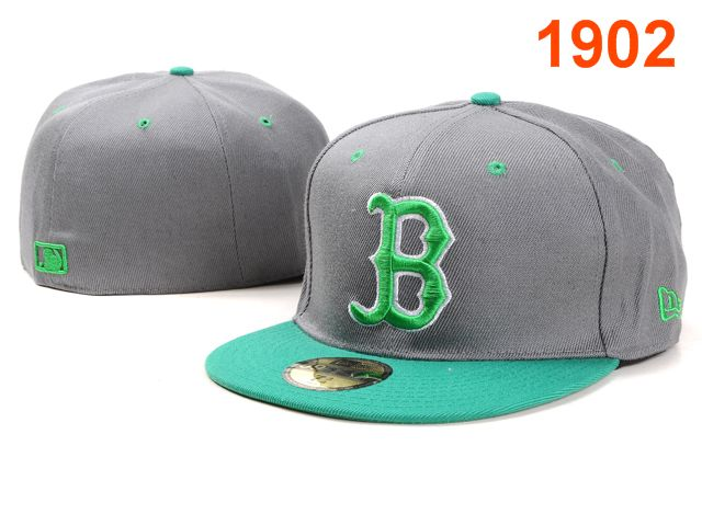 Boston Red Sox MLB Fitted Hat PT08