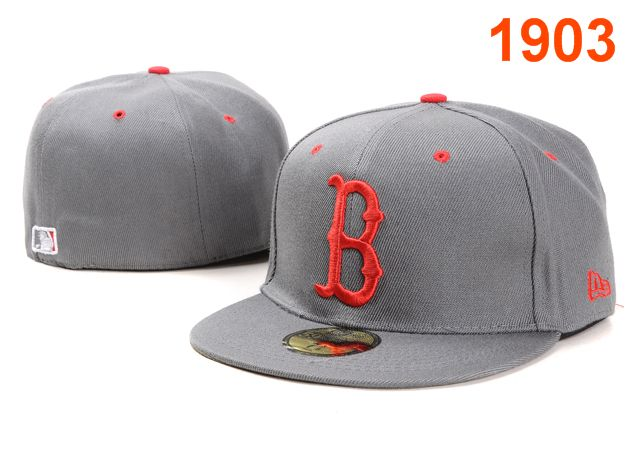 Boston Red Sox MLB Fitted Hat PT09