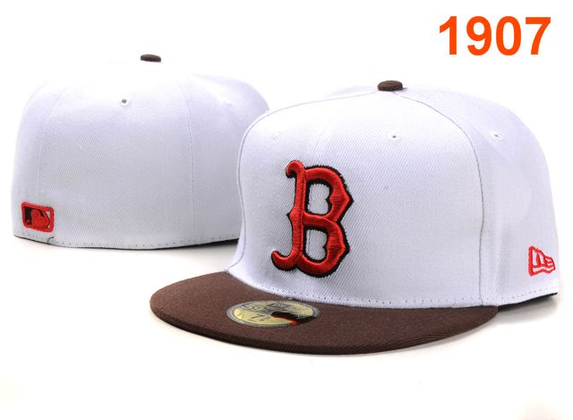 Boston Red Sox MLB Fitted Hat PT11