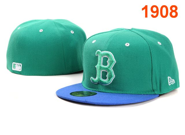 Boston Red Sox MLB Fitted Hat PT12