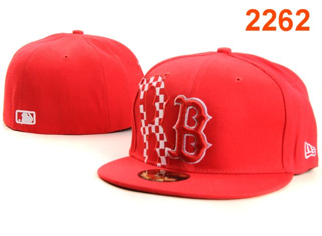 Boston Red Sox MLB Fitted Hat PT16