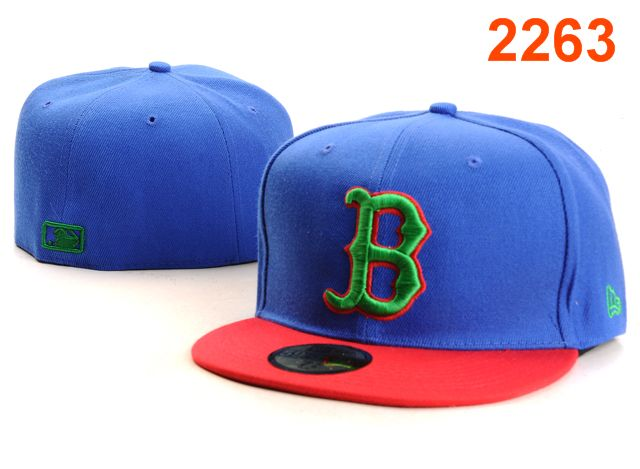 Boston Red Sox MLB Fitted Hat PT17