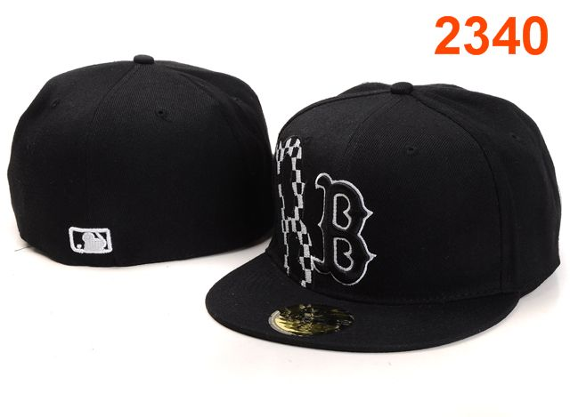 Boston Red Sox MLB Fitted Hat PT21