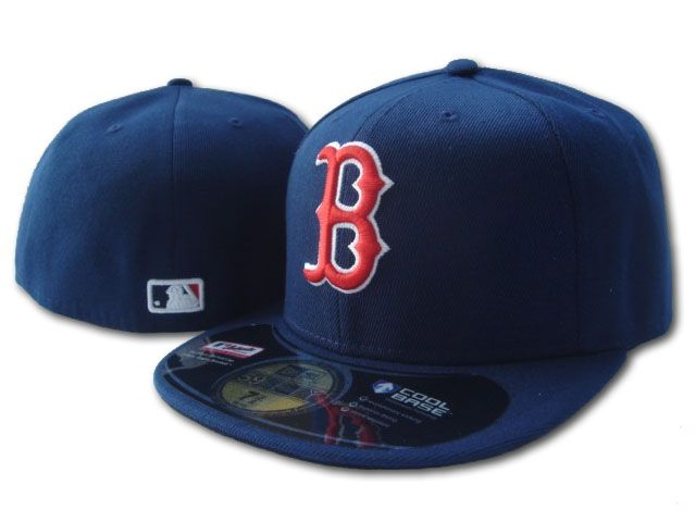 Boston Red Sox MLB Fitted Hat sf1