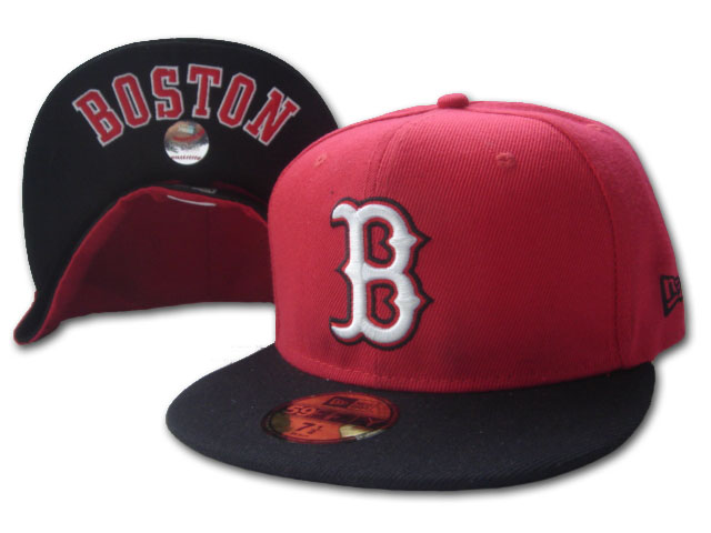 Boston Red Sox MLB Fitted Hat sf5