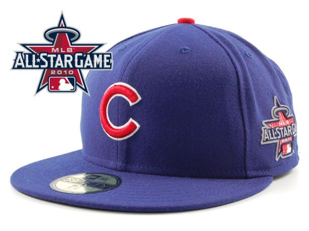 Chicago Cubs 2010 MLB All Star Fitted Hat Sf05