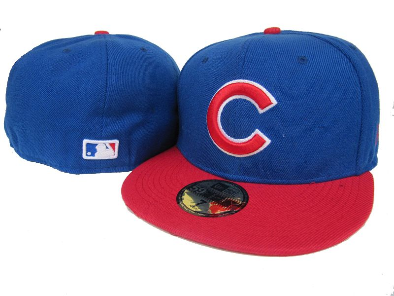 Chicago Cubs MLB Fitted Hat LX1