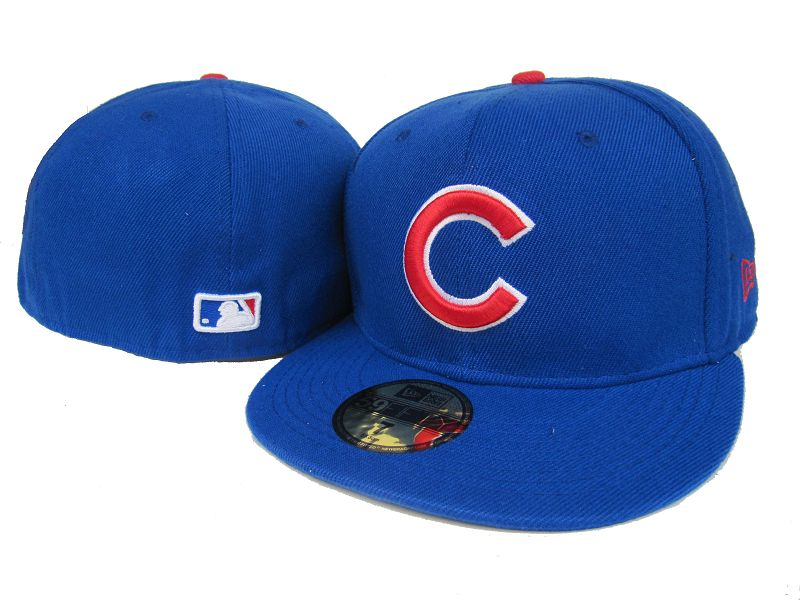 Chicago Cubs MLB Fitted Hat LX2