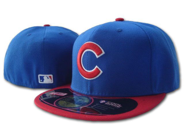 Chicago Cubs MLB Fitted Hat SF1