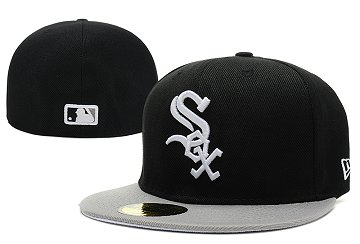 Chicago White Sox Fitted Hat LX 140812 3