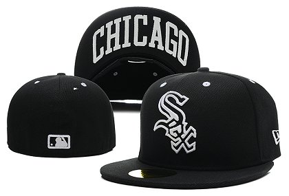 Chicago White Sox LX Fitted Hat 140802 0129