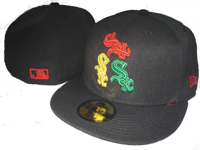 Chicago White Sox MLB Fitted Hat LX1
