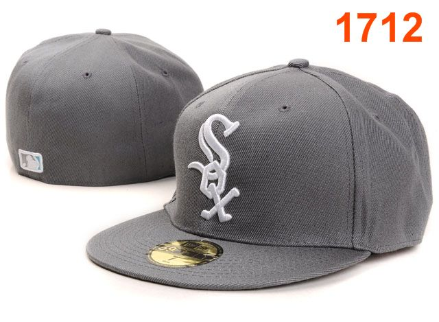Chicago White Sox MLB Fitted Hat PT02