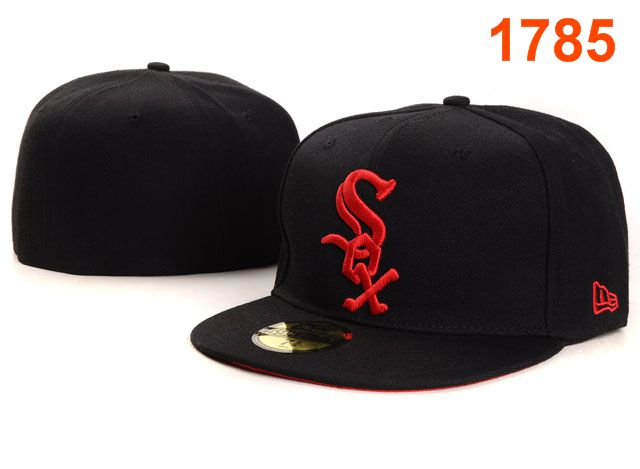 Chicago White Sox MLB Fitted Hat PT14