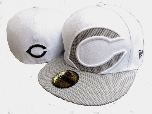 Cincinnati Reds MLB Fitted Hat LX06