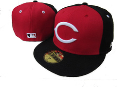 Cincinnati Reds MLB Fitted Hat LX15