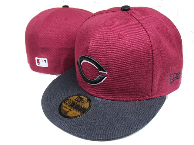 Cincinnati Reds MLB Fitted Hat LX20