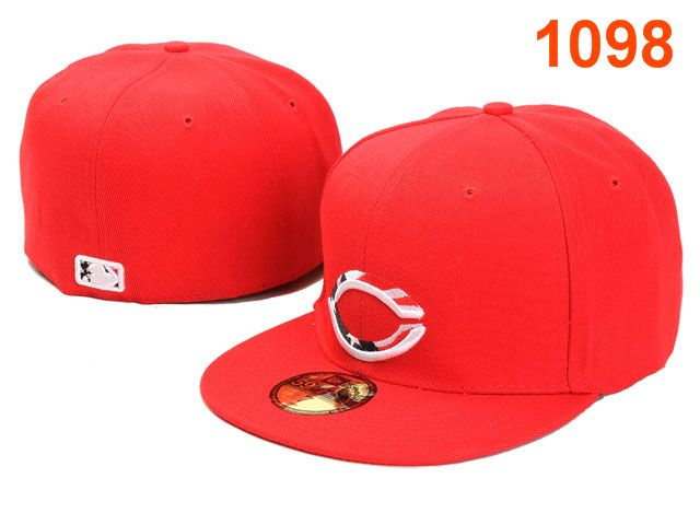 Cincinnati Reds MLB Fitted Hat PT01