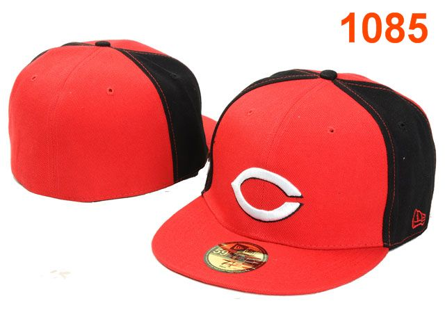 Cincinnati Reds MLB Fitted Hat PT03