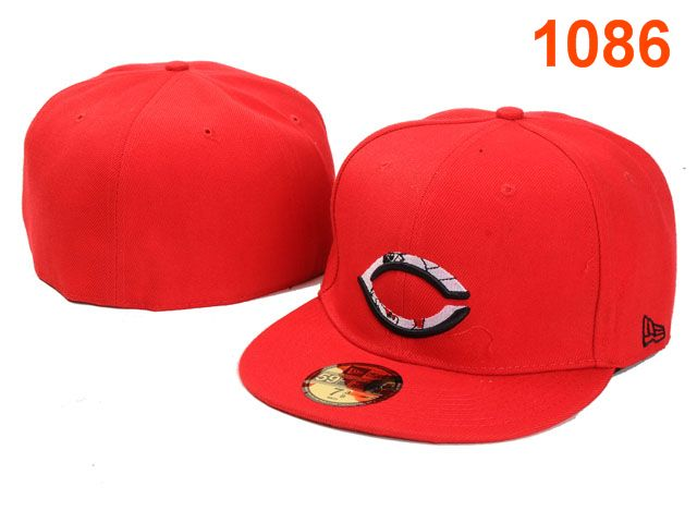 Cincinnati Reds MLB Fitted Hat PT04