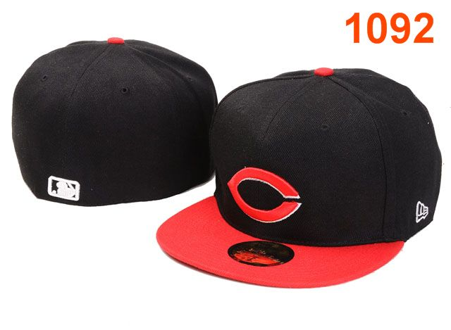 Cincinnati Reds MLB Fitted Hat PT09