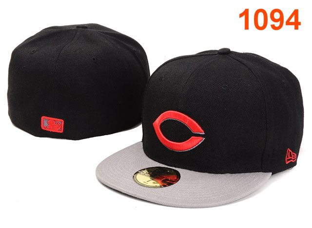 Cincinnati Reds MLB Fitted Hat PT11