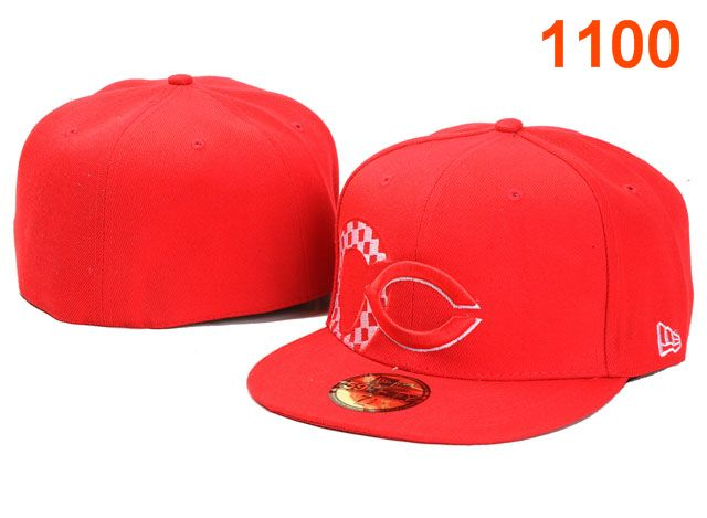 Cincinnati Reds MLB Fitted Hat PT16