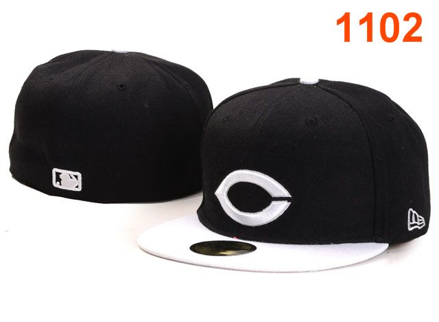 Cincinnati Reds MLB Fitted Hat PT17