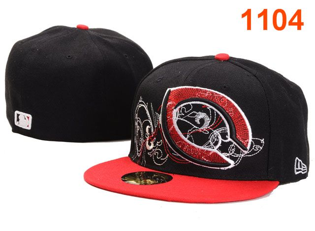 Cincinnati Reds MLB Fitted Hat PT19