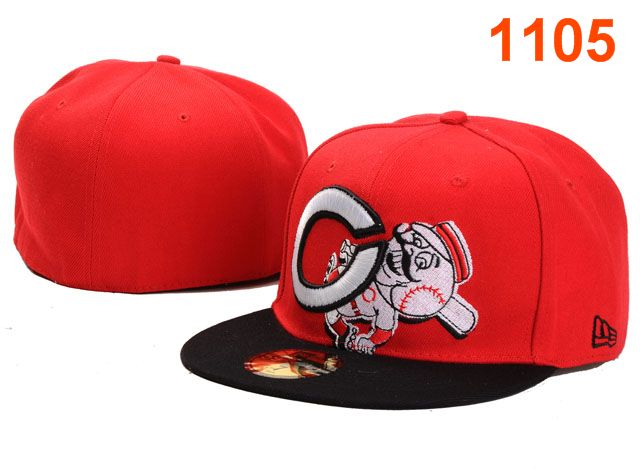 Cincinnati Reds MLB Fitted Hat PT20