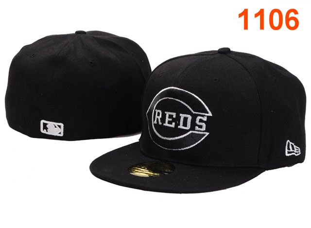 Cincinnati Reds MLB Fitted Hat PT21