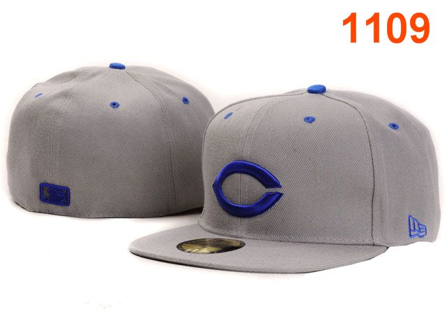 Cincinnati Reds MLB Fitted Hat PT24