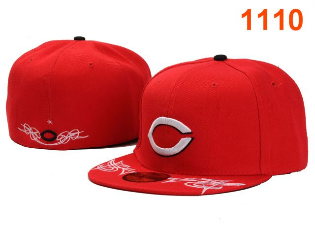 Cincinnati Reds MLB Fitted Hat PT25