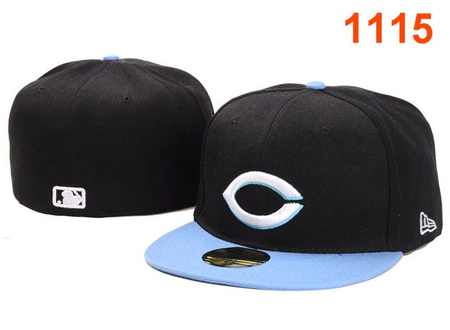 Cincinnati Reds MLB Fitted Hat PT28