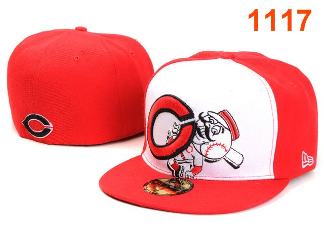 Cincinnati Reds MLB Fitted Hat PT30