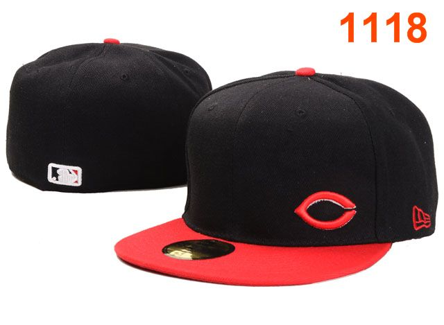 Cincinnati Reds MLB Fitted Hat PT31