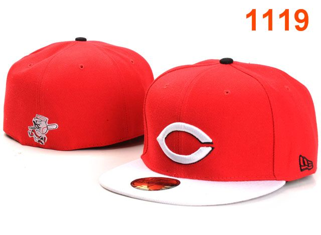 Cincinnati Reds MLB Fitted Hat PT32