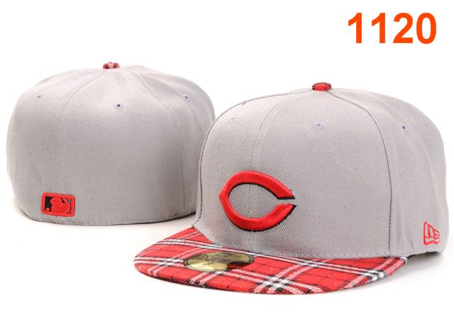 Cincinnati Reds MLB Fitted Hat PT33