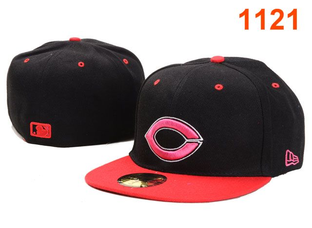 Cincinnati Reds MLB Fitted Hat PT34