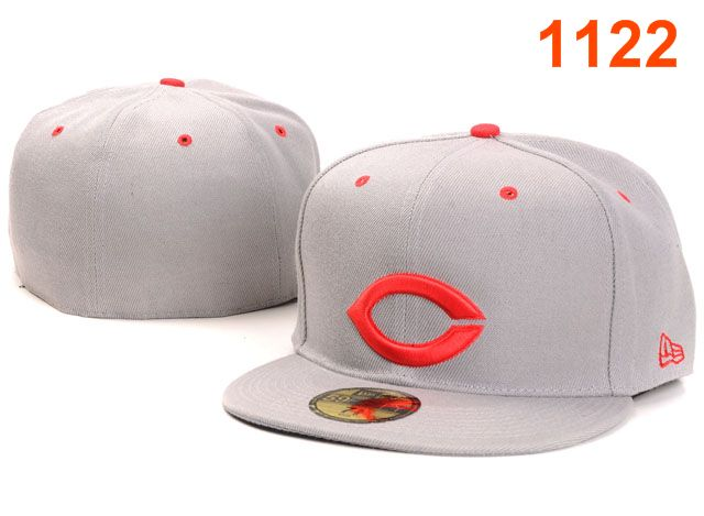 Cincinnati Reds MLB Fitted Hat PT35