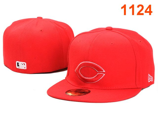 Cincinnati Reds MLB Fitted Hat PT37