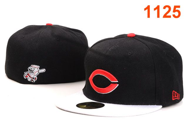 Cincinnati Reds MLB Fitted Hat PT38