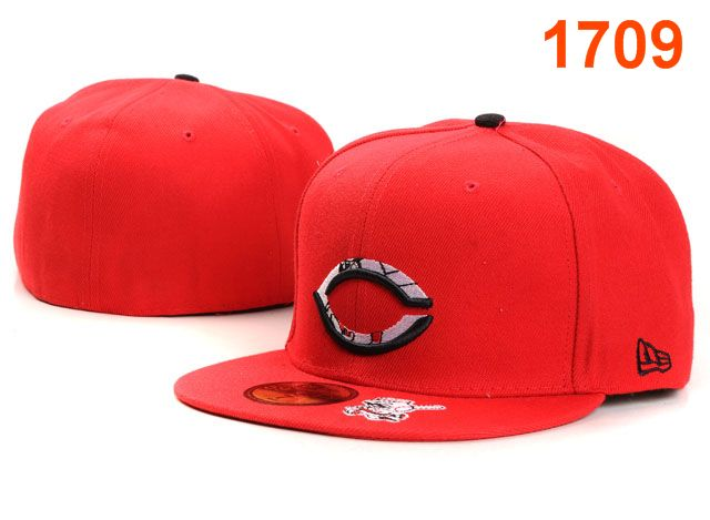 Cincinnati Reds MLB Fitted Hat PT39