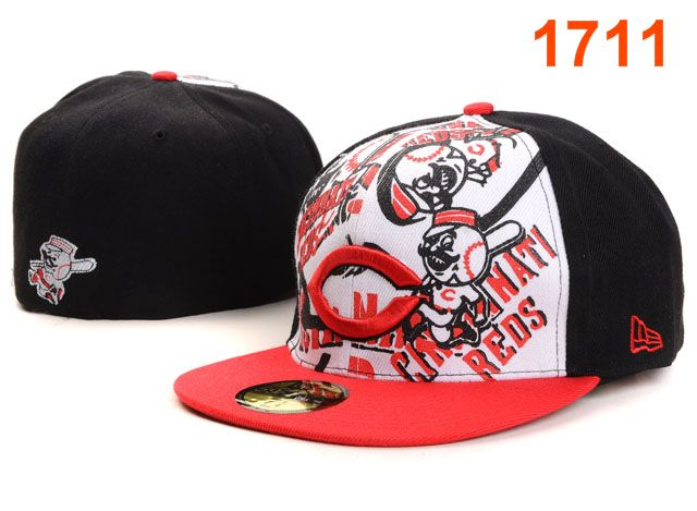 Cincinnati Reds MLB Fitted Hat PT41