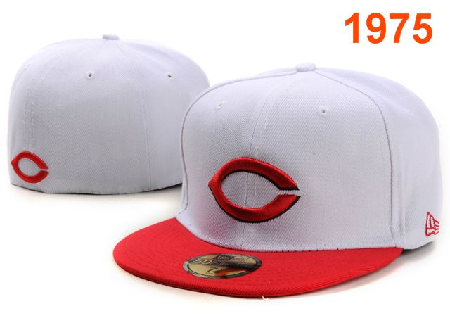 Cincinnati Reds MLB Fitted Hat PT43