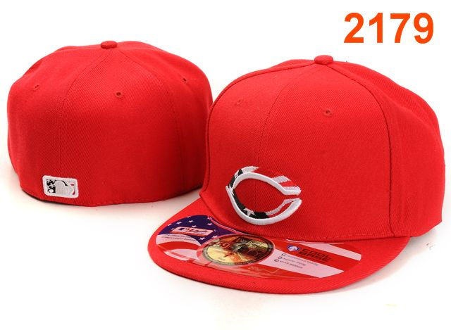 Cincinnati Reds MLB Fitted Hat PT44